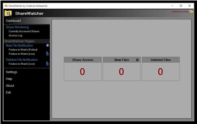 ShareWatcher full screenshot